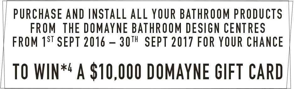 [Win a $10,000 Domayne Gift Card]