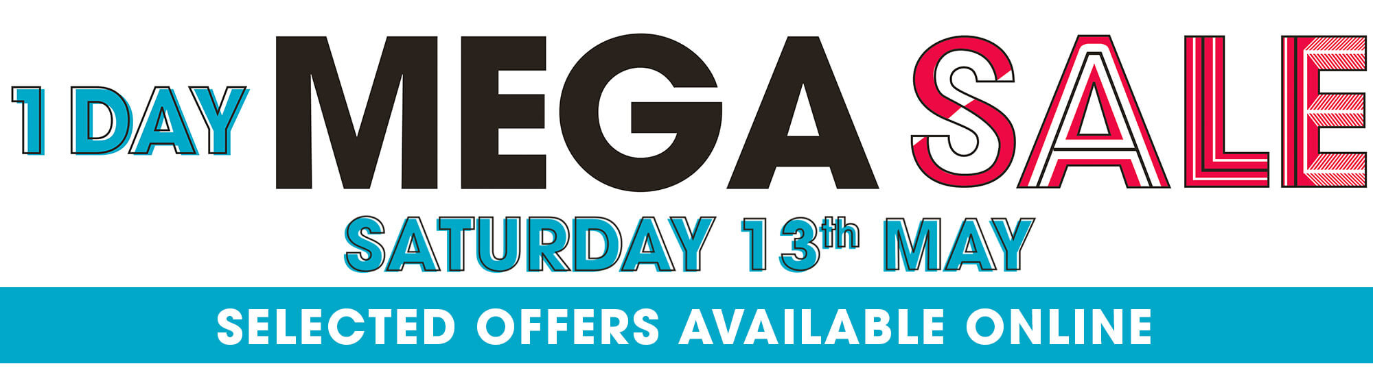 1 day mega sale