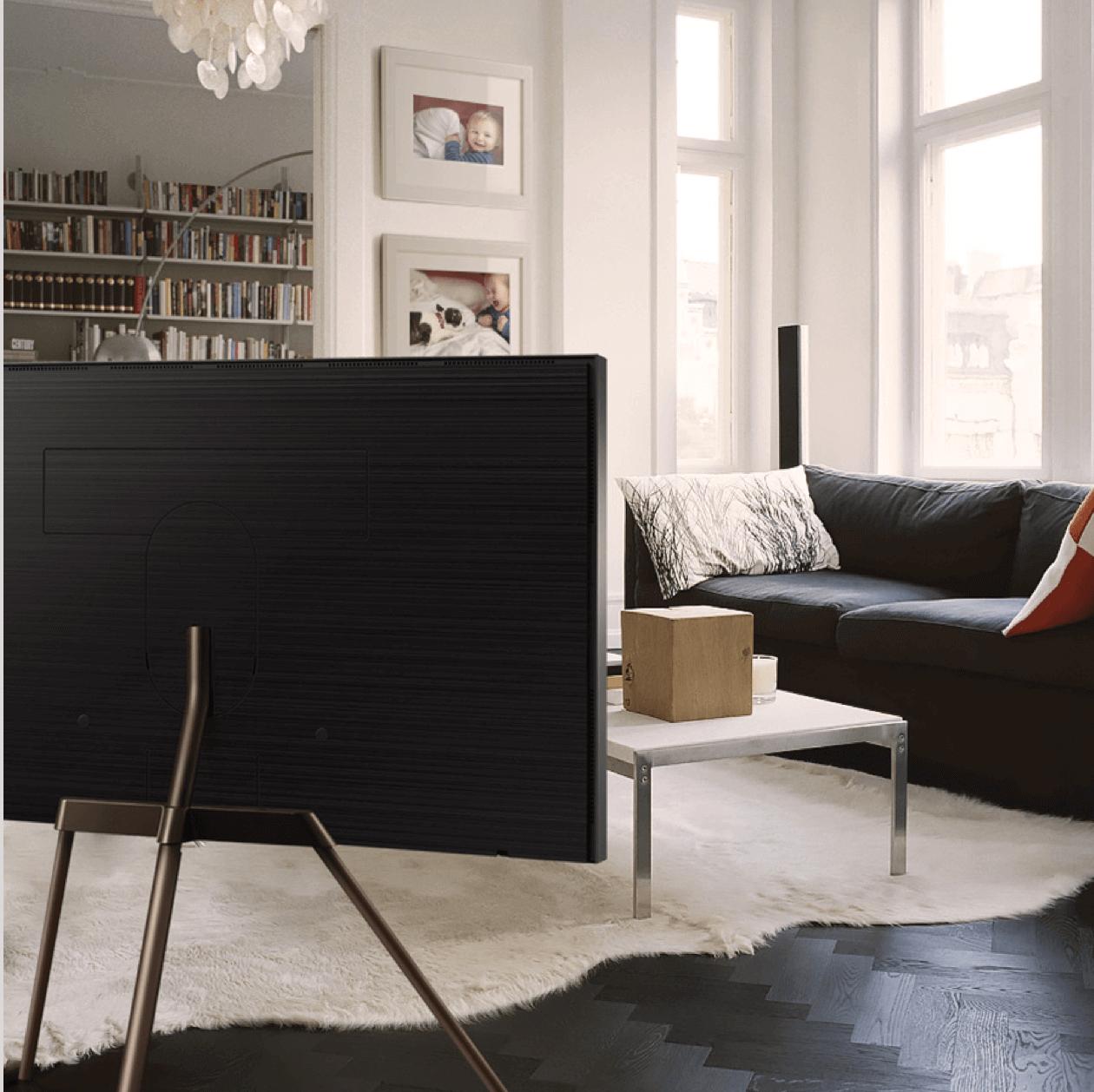 samsung the frame tv domayne. Black Bedroom Furniture Sets. Home Design Ideas