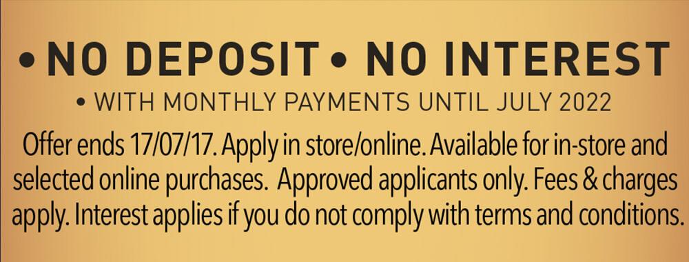 [no deposit no interest]