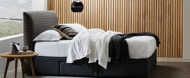 Luxury bedroom styling