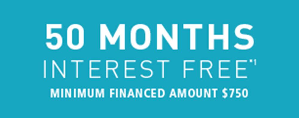 [50 months interest free]