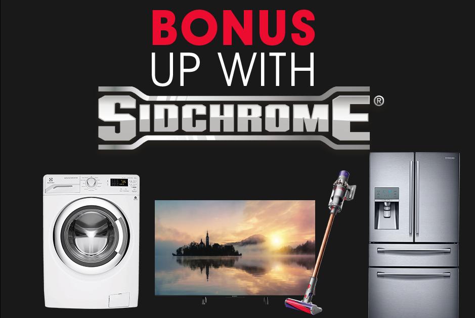 Bonus Sidchrome Sale