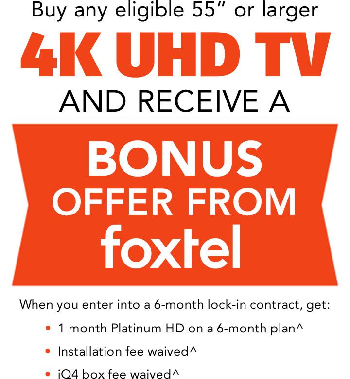 [Bonus Offer From Foxtel]