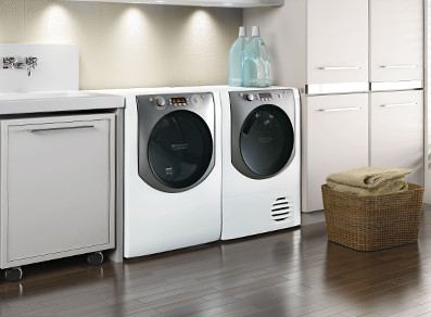 Ariston's premium Aqualtis Laundry Collection