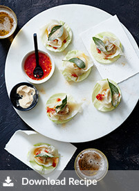 [Sour pork dumpling cabbage cups]