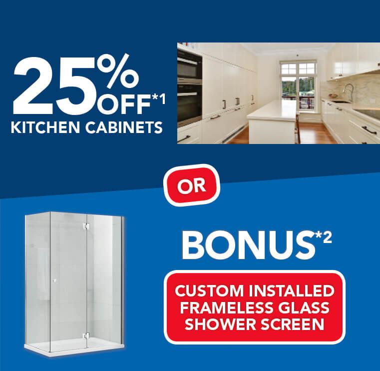Bonus* Shower Screen