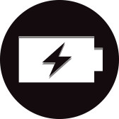 [Battery Icon]