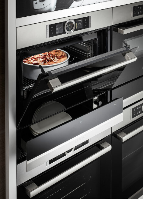 Bosch Compact Oven And Warming Drawer