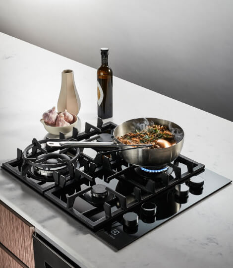 Electrolux Glass Gas Cooktop
