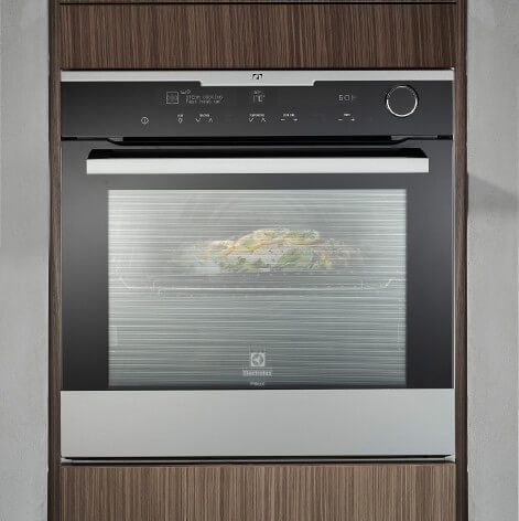 Electrolux Pyrolytic Steam-Assist Oven