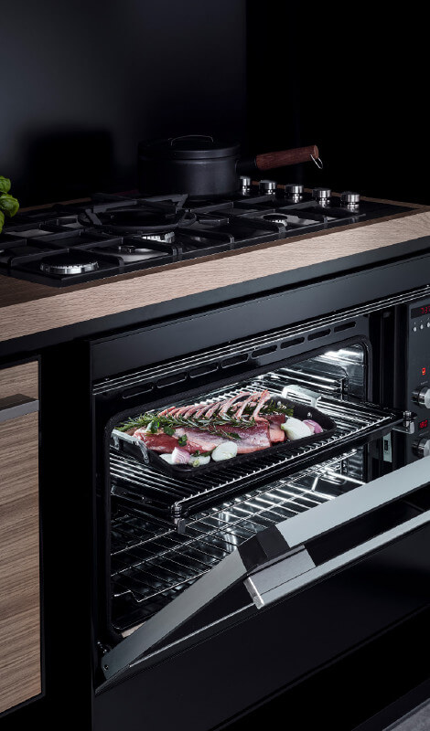 Fisher and Paykel Gas Cooktop and Pyrolytic Oven