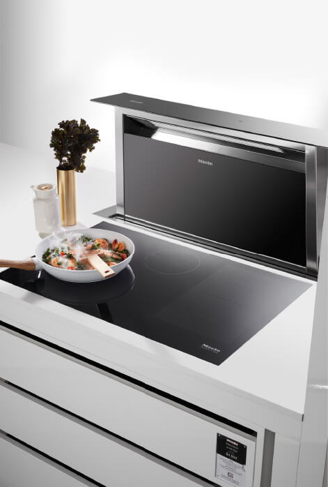 Miele Cooktop and Extractor