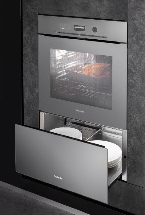Miele Pyrolytic Oven and Warming Drawer