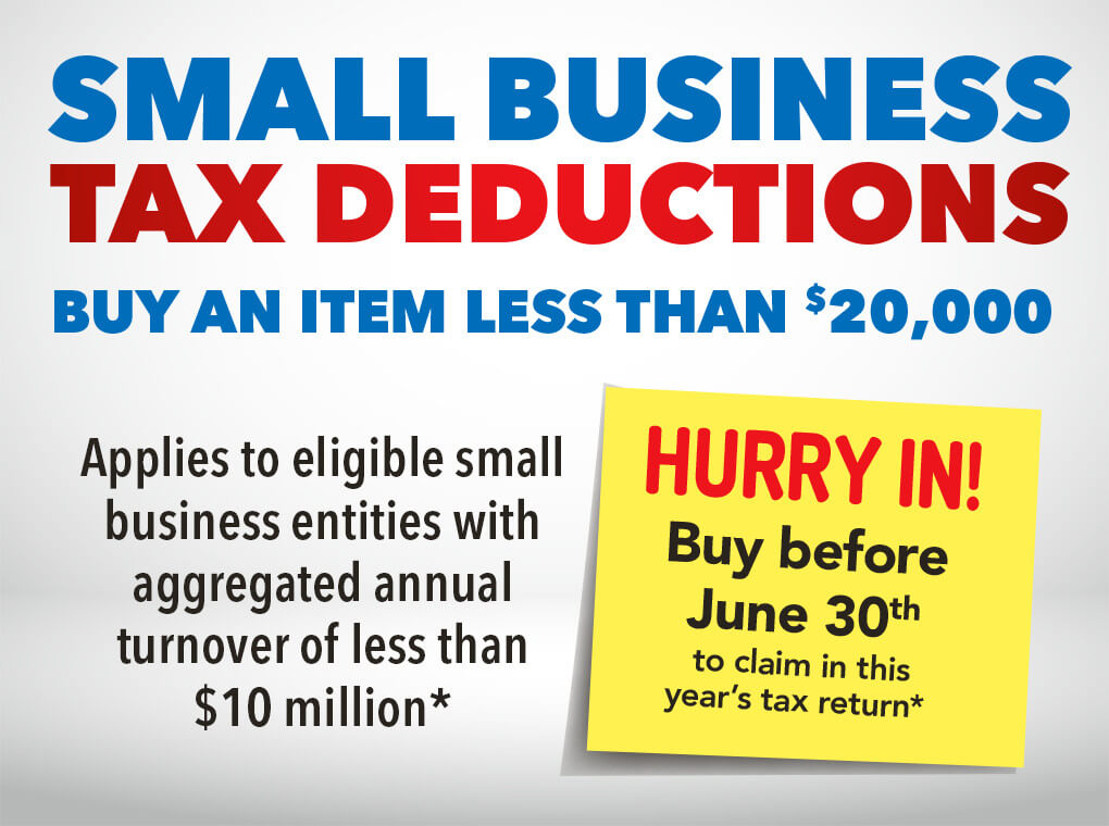 [Small Business tax deductions]