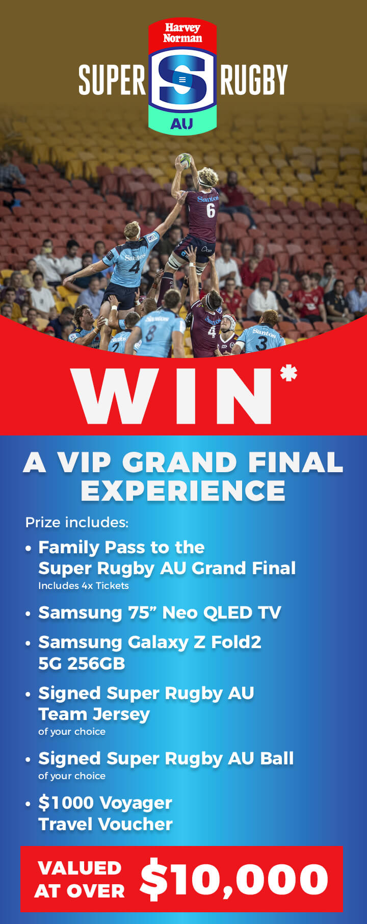 Win* a VIP Grand Final Experience