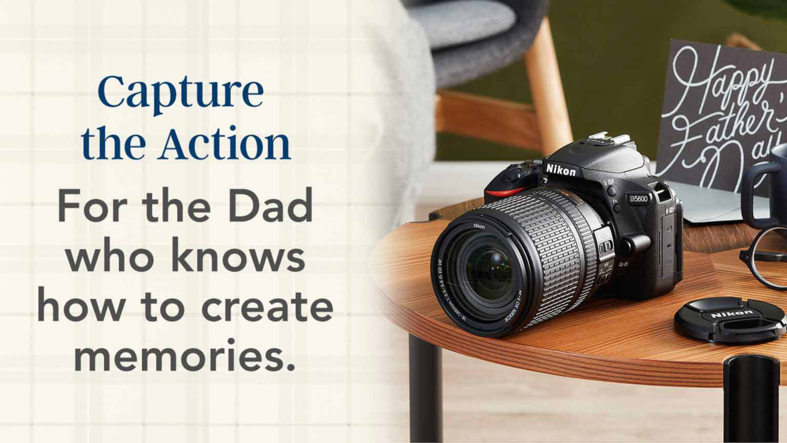 Father's Day - Capture the action