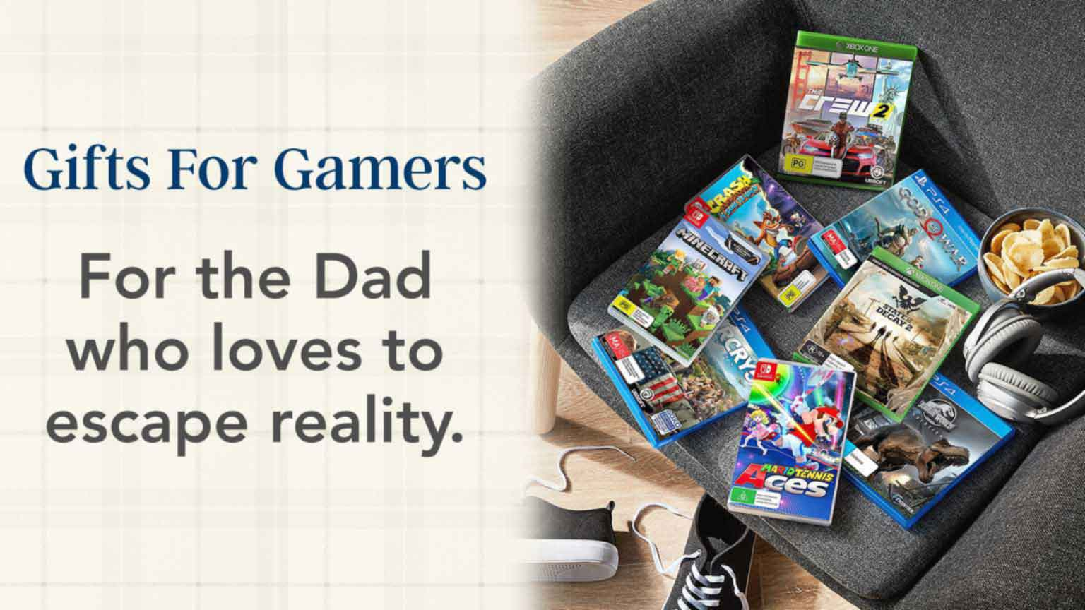 Father's Day - Gifts for gamers