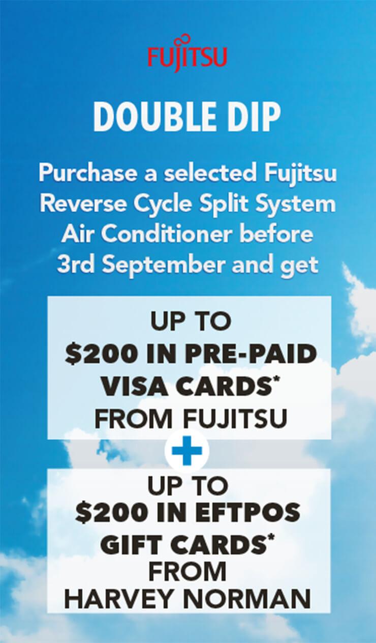 Fujitsu Double Dip