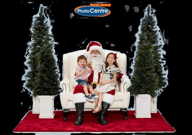 Santa in Store