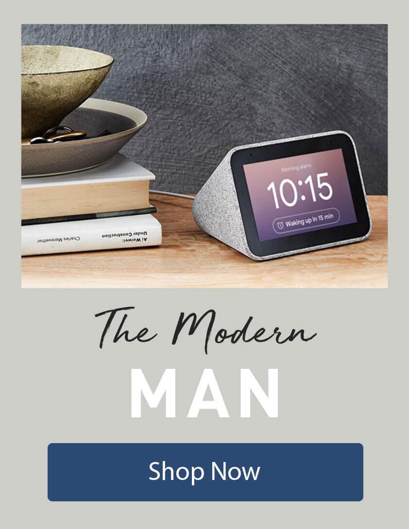 [The Modern Man]